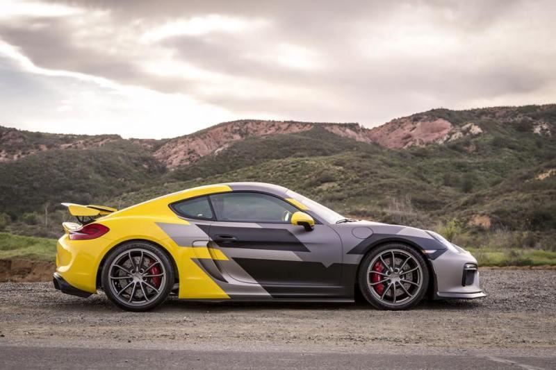 Vorsteiner Porsche Cayman GT4 -3