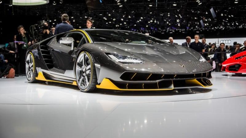 2017 Lamborghini Centenario LP770 -2