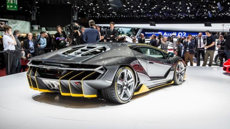 2017 Lamborghini Centenario Indyacars