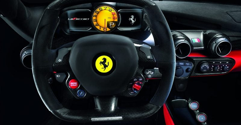 Modified steering wheel