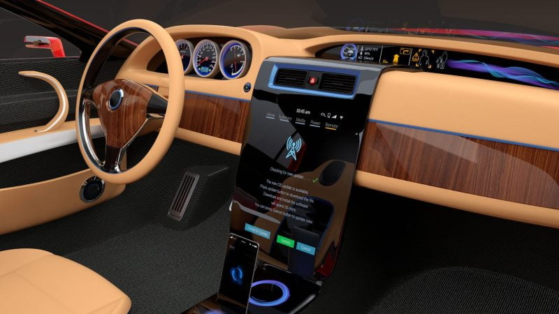 technologically advanced cars