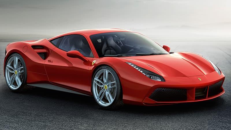 Ferrari 488 supercar