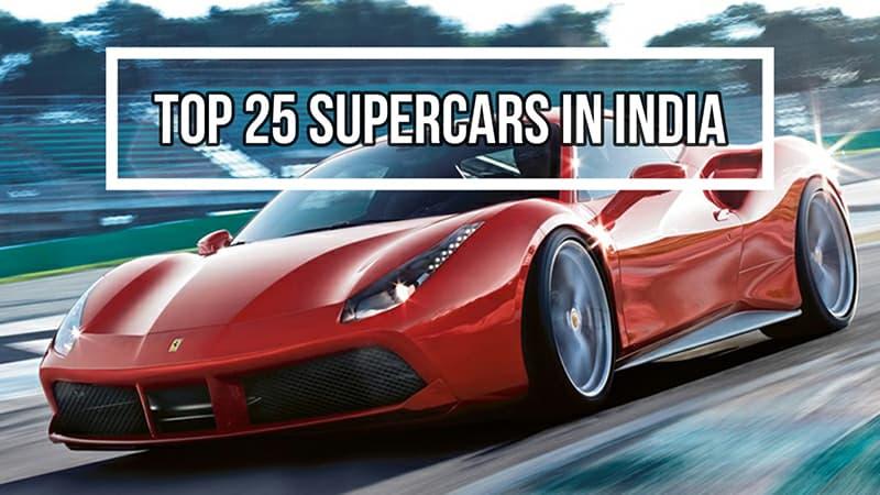 Top super cars in India